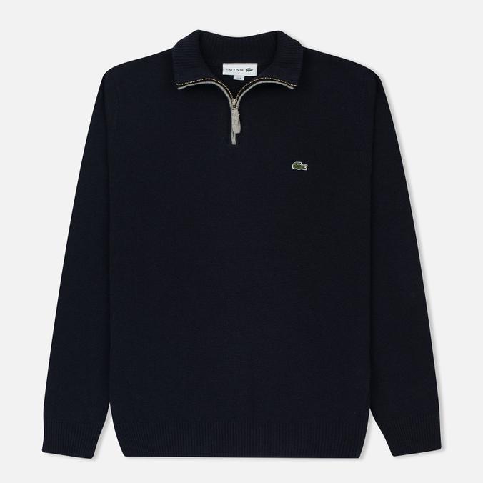Мужской свитер Lacoste Half Zip Fastened Navy Blue/Silver Chine