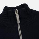 Мужской свитер Lacoste Half Zip Fastened Navy Blue/Silver Chine фото- 1