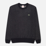 Lacoste Live Birdseye Wool Men's Sweater Navy/White photo- 0