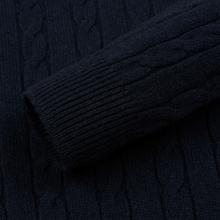 Мужской свитер Lyle & Scott Cable Jumper Dark Navy фото- 3
