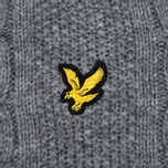 Мужской свитер Lyle & Scott Cable Knit Mid Grey Marl фото- 2