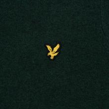 Мужской свитер Lyle & Scott Cotton Merino Crew Neck Jumper Jade Green Marl фото- 2