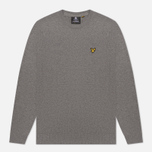 Мужской свитер Lyle & Scott Cotton Merino Crew Neck Jumper Mid Grey Marl фото- 0