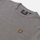 Мужской свитер Lyle & Scott Cotton Merino Crew Neck Jumper Mid Grey Marl фото- 1