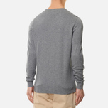 Мужской свитер Lyle & Scott Cotton Merino Crew Neck Jumper Mid Grey Marl фото- 3