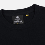 Мужской свитер Lyle & Scott Cotton Merino Crew Neck Jumper True Black фото- 1