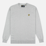 Мужской свитер Lyle & Scott Crew Neck Merino Light Grey Marl фото- 0