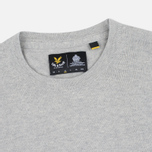 Мужской свитер Lyle & Scott Crew Neck Merino Light Grey Marl фото- 1