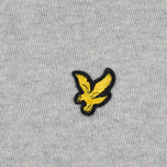 Мужской свитер Lyle & Scott Crew Neck Merino Light Grey Marl фото- 2