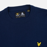 Мужской свитер Lyle & Scott Crew Neck Merino Navy фото- 1