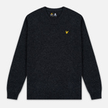 Мужской свитер Lyle & Scott V Neck Lambswool Charcoal Marl фото- 0