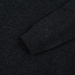 Мужской свитер Lyle & Scott V Neck Lambswool Charcoal Marl фото- 3