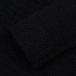 Мужской свитер MA.Strum Soft Shetland Button Placket Jet Black фото- 3