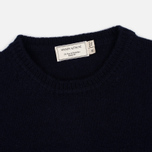 Мужской свитер Maison Kitsune Fox Head Navy фото- 1