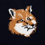 Мужской свитер Maison Kitsune Fox Head Navy фото- 2