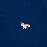 Мужской свитер Maison Kitsune Lambswool R Neck Blue фото- 2