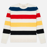 Мужской свитер Maison Kitsune Lambswool Stripes Multicolor фото- 0