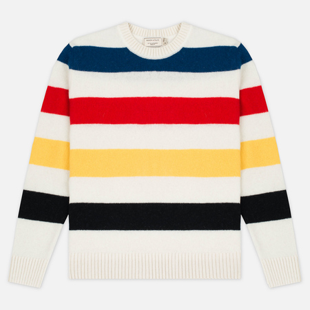 Maison Kitsune Lambswool Stripes Men's Sweater Multicolor