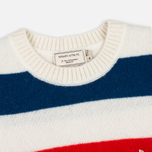 Мужской свитер Maison Kitsune Lambswool Stripes Multicolor фото- 1