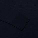 Мужской свитер Maison Kitsune Round Neck Navy фото- 3