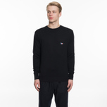 Мужской свитер Maison Kitsune Virgin Wool R-Neck Pullover Black фото- 4