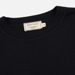 Мужской свитер Maison Kitsune Virgin Wool R-Neck Pullover Black фото- 1