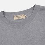 Мужской свитер Maison Kitsune Virgin Wool R-Neck Pullover Grey Melange фото- 1