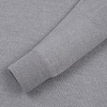 Мужской свитер Maison Kitsune Virgin Wool R-Neck Pullover Grey Melange фото- 3