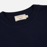 Мужской свитер Maison Kitsune Virgin Wool R-Neck Pullover Navy фото- 1