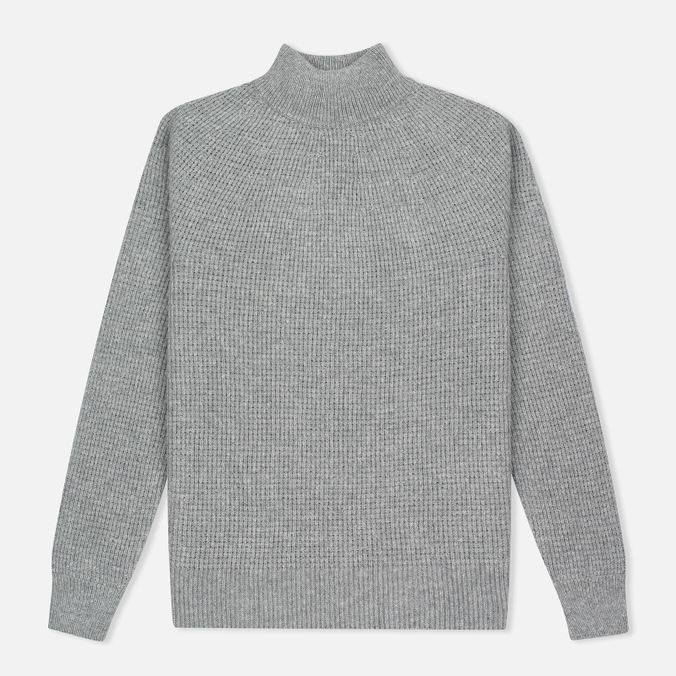 Мужской свитер Nanamica High Neck Heather Grey