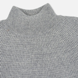 Мужской свитер Nanamica High Neck Heather Grey фото- 1