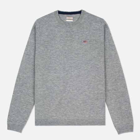 Napapijri Dorek Medium Men's Sweater Grey Melange