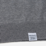Мужской свитер Norse Projects Marius Merino Light Grey Melange фото- 3