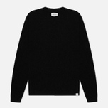 Мужской свитер Norse Projects Sigfred Lambswool Black фото- 0