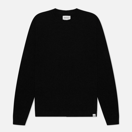 Norse Projects Sigfred Lambswool Men's Sweater Black