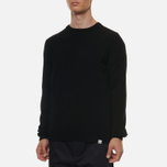 Мужской свитер Norse Projects Sigfred Lambswool Black фото- 2