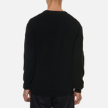 Мужской свитер Norse Projects Sigfred Lambswool Black фото- 3