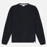 Мужской свитер Norse Projects Sigfred Lambswool Charcoal Melange фото- 0