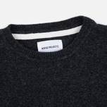 Мужской свитер Norse Projects Sigfred Lambswool Charcoal Melange фото- 1