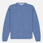 Мужской свитер Norse Projects Sigfred Lambswool Colony Blue фото- 0