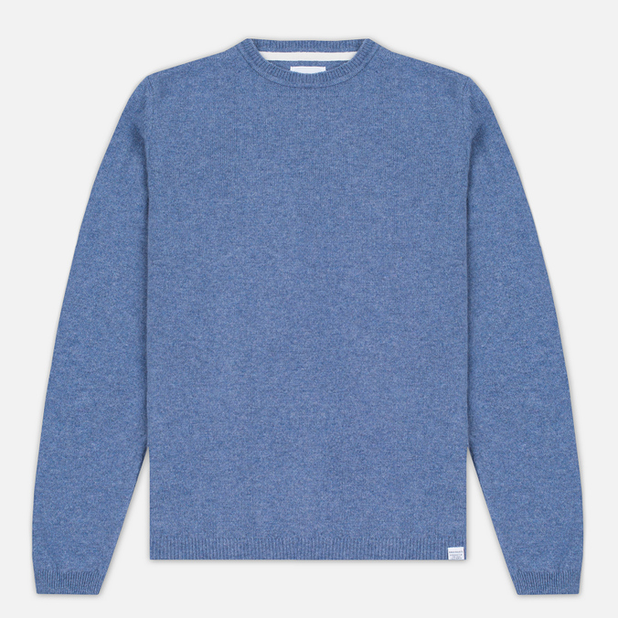 Мужской свитер Norse Projects Sigfred Lambswool Colony Blue