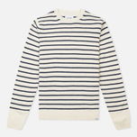 Norse Projects Sigfred Lambswool Men's Sweater Ecru photo- 0