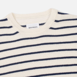 Norse Projects Sigfred Lambswool Men's Sweater Ecru photo- 1