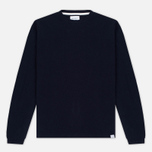 Мужской свитер Norse Projects Sigfred Lambswool Navy фото- 0