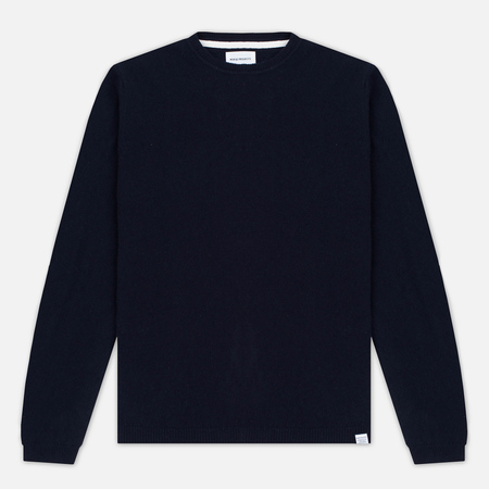 Мужской свитер Norse Projects Sigfred Lambswool Navy