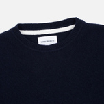 Мужской свитер Norse Projects Sigfred Lambswool Navy фото- 1
