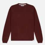 Мужской свитер Norse Projects Sigfred Lambswool Red Clay фото- 0
