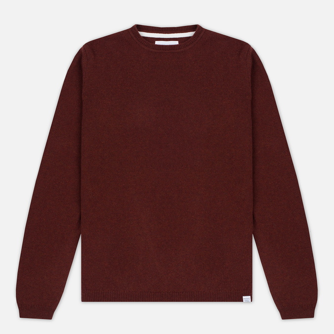 Мужской свитер Norse Projects Sigfred Lambswool Red Clay