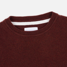 Мужской свитер Norse Projects Sigfred Lambswool Red Clay фото- 1