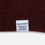 Мужской свитер Norse Projects Sigfred Lambswool Red Clay фото- 3